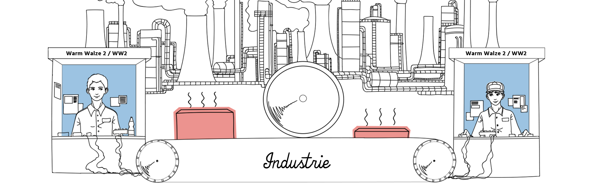 Industriell genutzte Kühlung